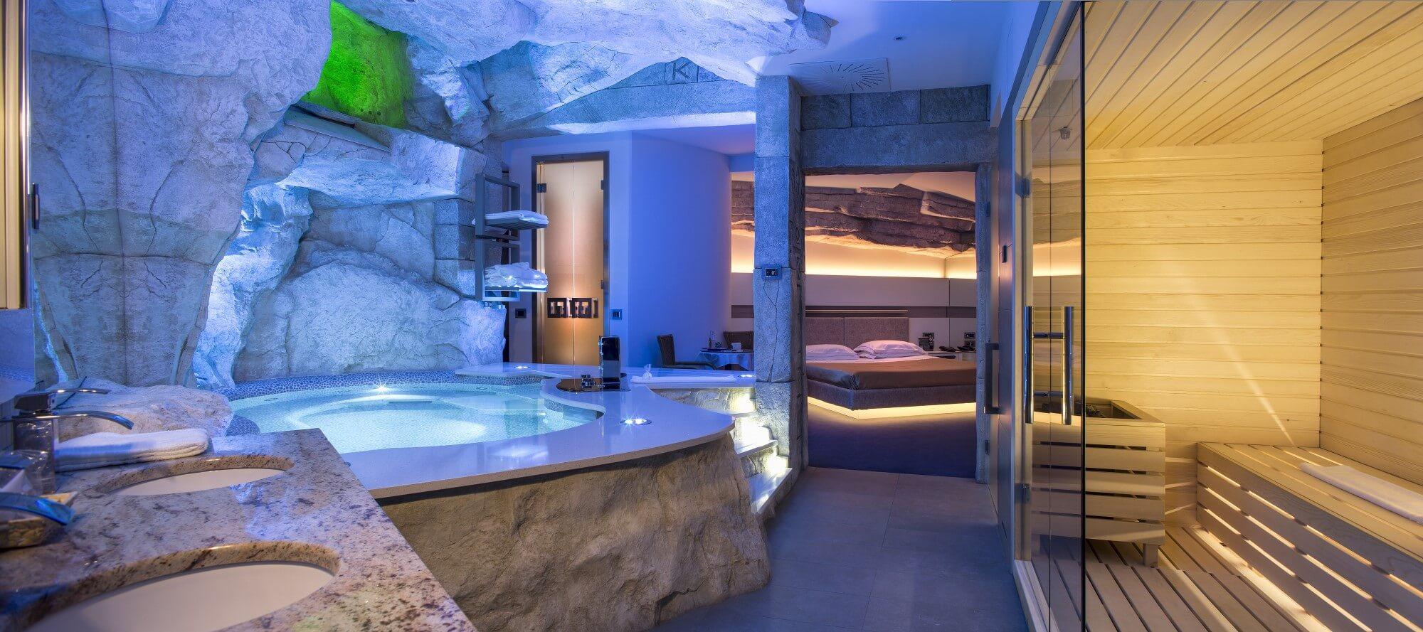 Motel k milano - Spa con piscina in camera ...